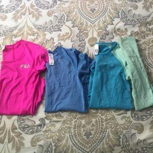 Girl athletic shirt bundle.